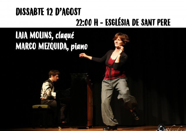 Espectacle musical de claqué i piano