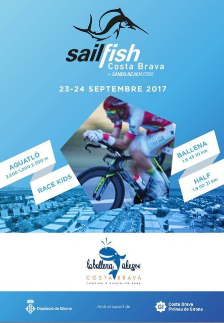TRIATLÓ INTERNACIONAL Sailfish Costa Brava